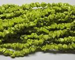 Färgade stenchips limegrön