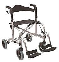 rollaattori, alumiini, pyörätuoli toimnto