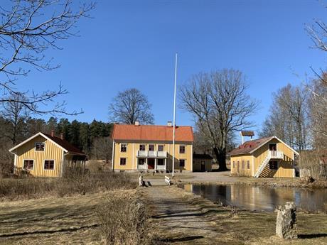 Huvudbyggnaden vid Markebäck