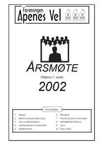 Program for Årsmøte 2002