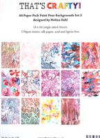 A4 paper pack Paint Pour backgrounds set 2