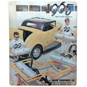 1965 MOON katalog vintage style skylt