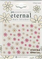 DL- Sticker Flower pink & beige