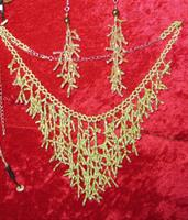 Grönt halsband set