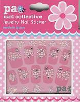 DL- Sticker Flower white & pink