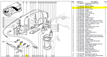 VIS BHC M5X80 LG:10 CL12.9 - Bolt M5-10