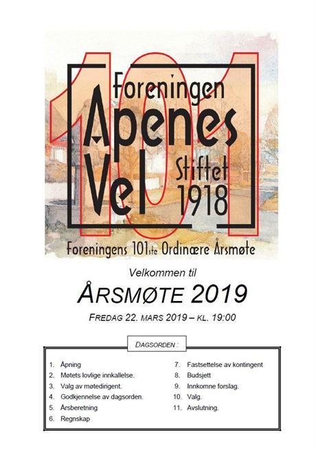 Program for Årsmøte 2019