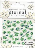DL- Sticker Flower green