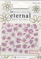 DL- Sticker Butterfly purple