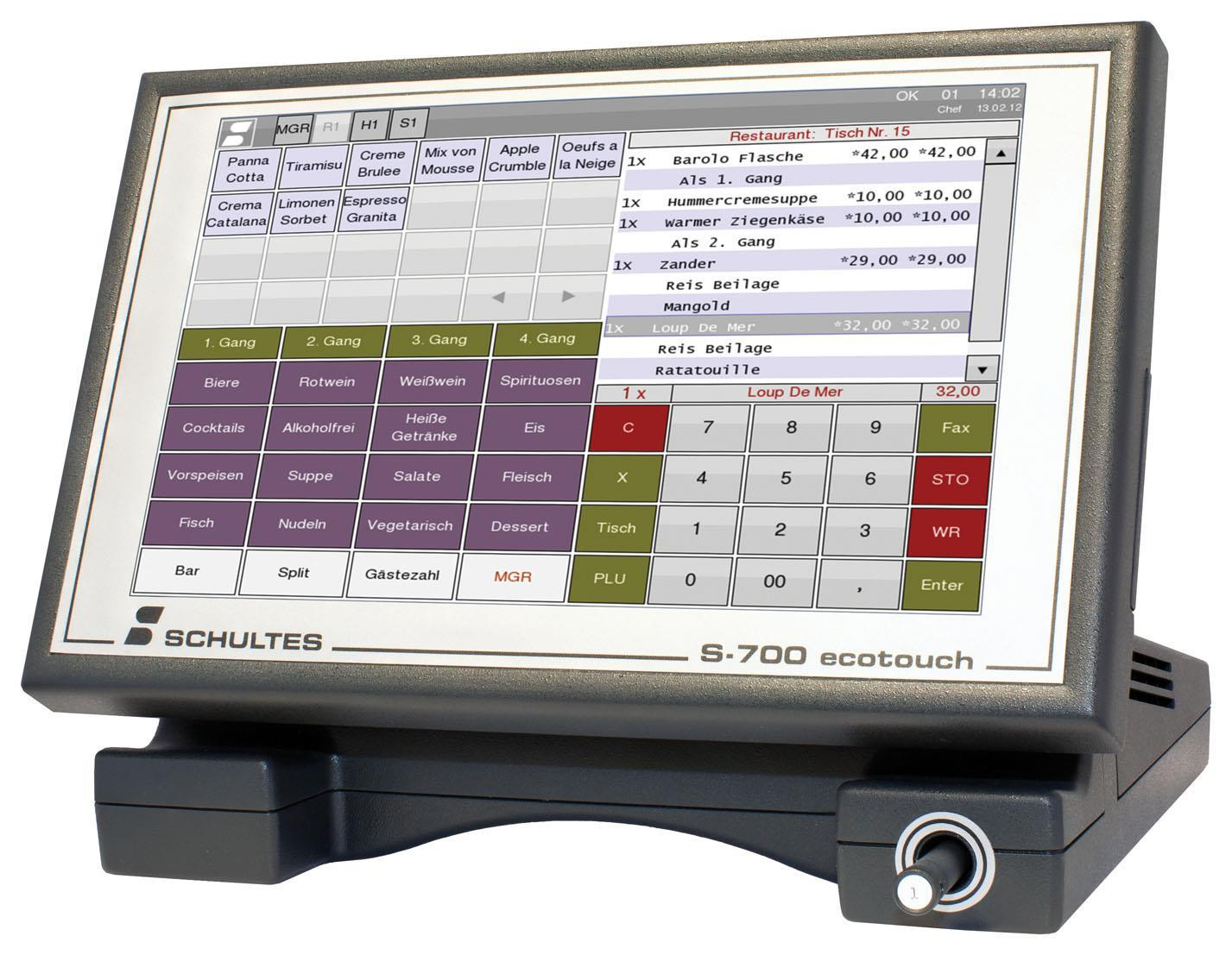 Schultes S-700 ecotouch
