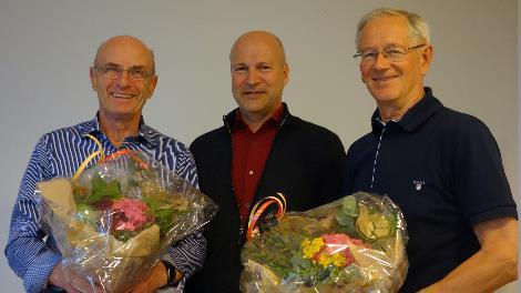 Årsmøtet takket Odd Bergh og Torbjørn Briseid