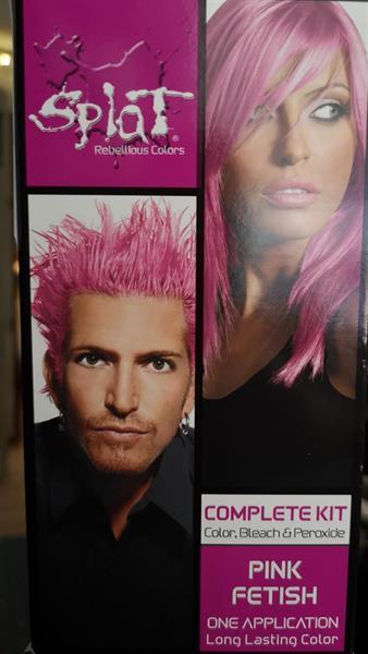 Pinkki shokkiväri