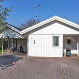 Det gamla garaget byggdes om till sovrum