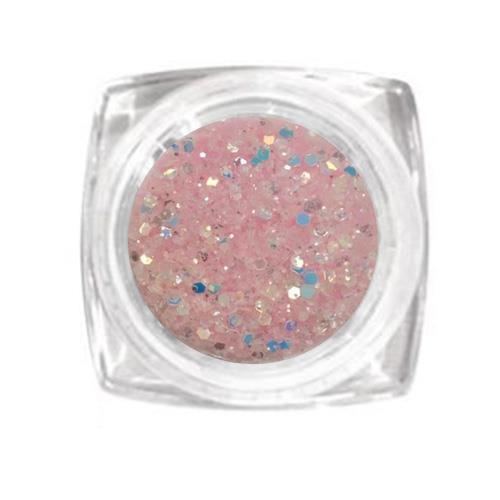 KN- Jar Glitter Light Pink