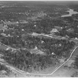 Flygfoto över Segeltorp. Fotograf: Ahrenbergsflyg, fotograferad - 1936