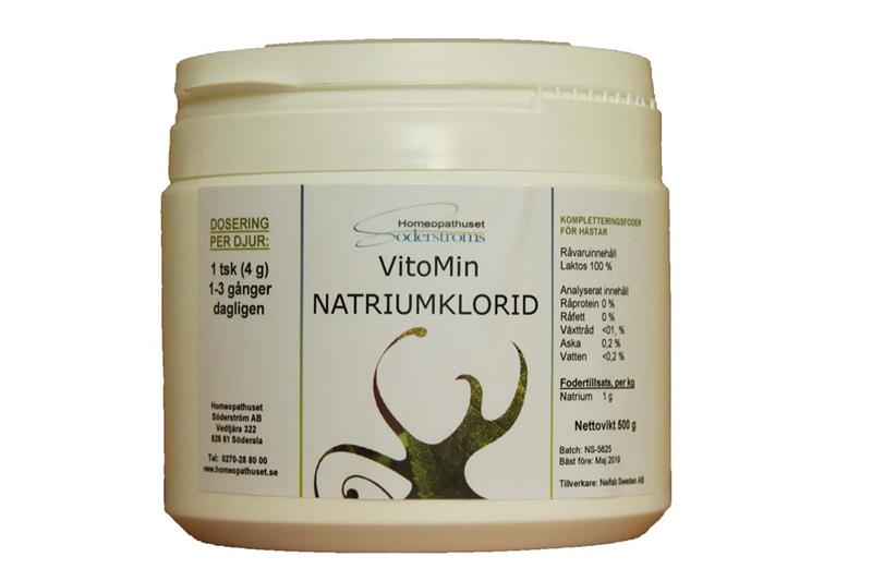 Natriumklorid 500 g  NR: 8