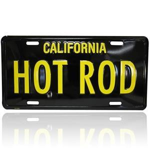 Nummerskylt Hot Rod