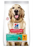 Hills Hund Adult Perfect Weight Large Breed Chicken 12kg