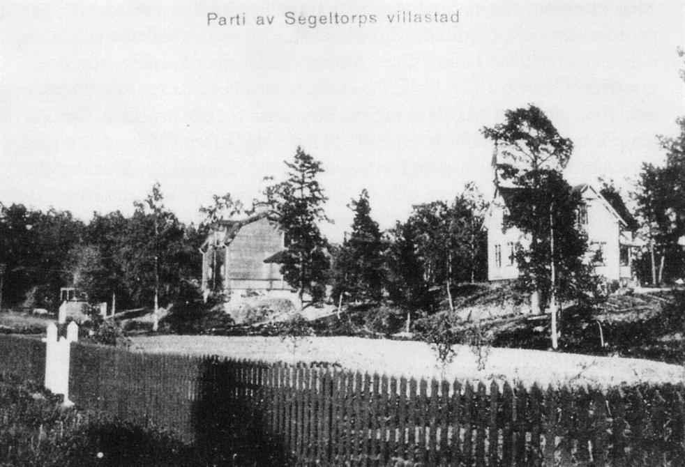 Segeltorps Villastad c:a 1920