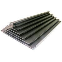 1HE täckpanel, stål,svart,vikt