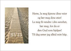 BV-Kort: Salme 25,4-5