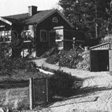 """Torpet """"Lindvreten"""" 1960. Foto: Hans Olssons arkiv"""