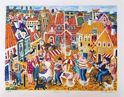 Dansen på torget - Simrishamn