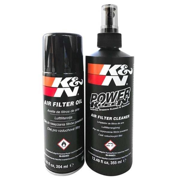 K&N öljy/pesuaine sarja