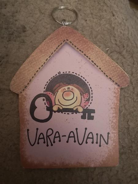 Puinen avaimenperä, Vara-avain