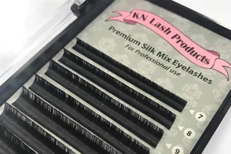 KN- Lash Silk Mix Lashes D- Curl 0,05mm