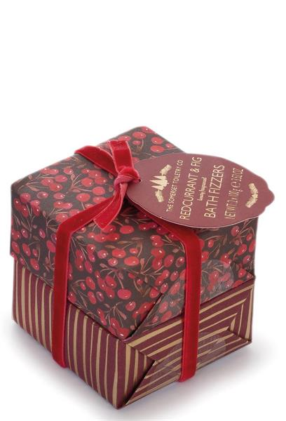"""""""NEW"""" Bath Fizzers Set Red Currant & Fig 2 X 100g"""