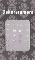 DM- Sticker Butterfly & flower