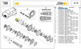 CIRCL. EXT.20 - Circlips