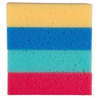 Tvättsvamp BR 15x9x4cm Mixade Färger