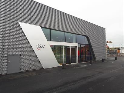 Audi bilhall och showroom, Nyköping