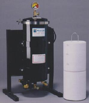 Liten portabel løsning til div oljerensing