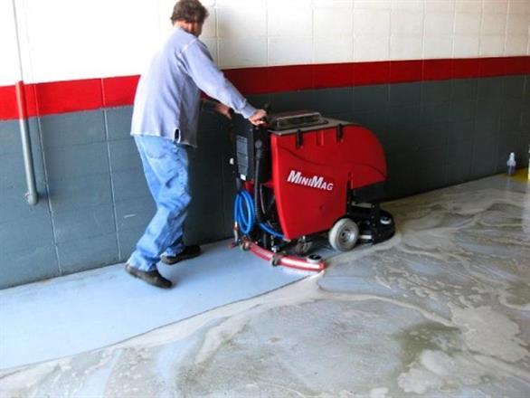 Med bra sug så blir golvet rent!