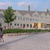 Nybyggnation Långsjöskolan, Huddinge