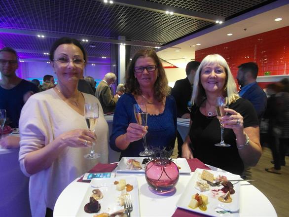 Invigning: Pia F Davidson, Anna-Karin Alfjärd, Carina Aynsley