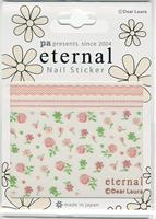 DL- Sticker Flower pink & green