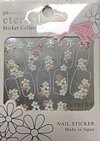 DL- Sticker Flower white