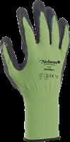 Handske Comfort strl 6 lime/svart