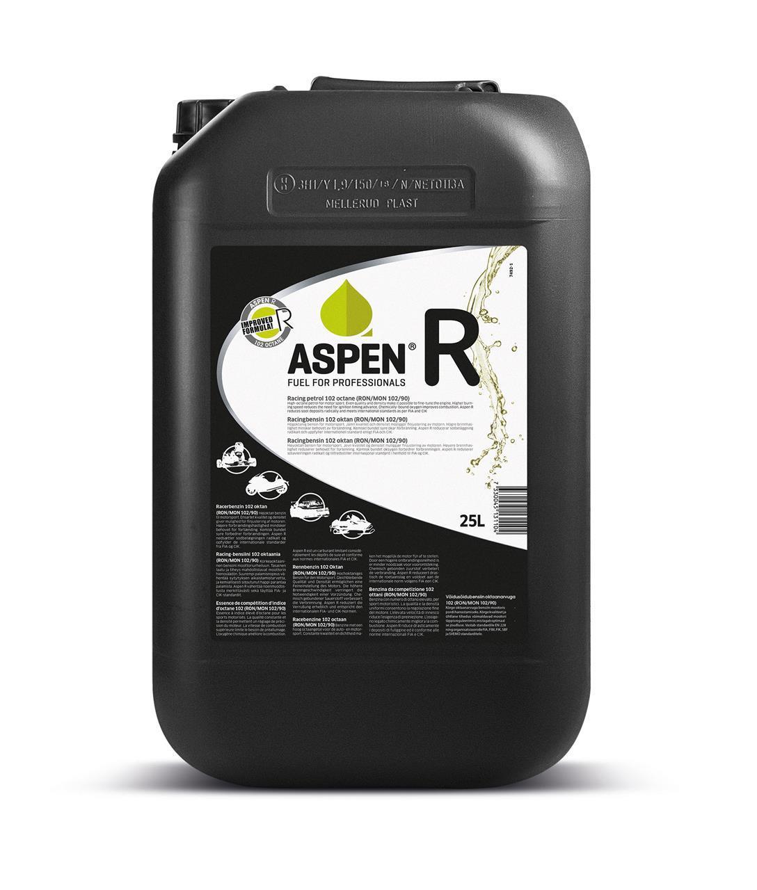 ASPEN R, 25L (VAIN NOUTOMYYNTI)