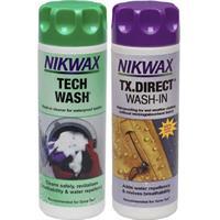 Tvättmedel + Impregnering Nikwax 300 ml x2