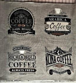 Kaffebilder, grå