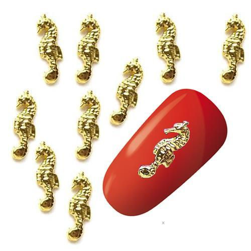 KN- JEWELRY Seahorse Gold