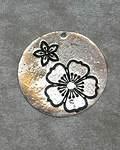 Platta med blommor