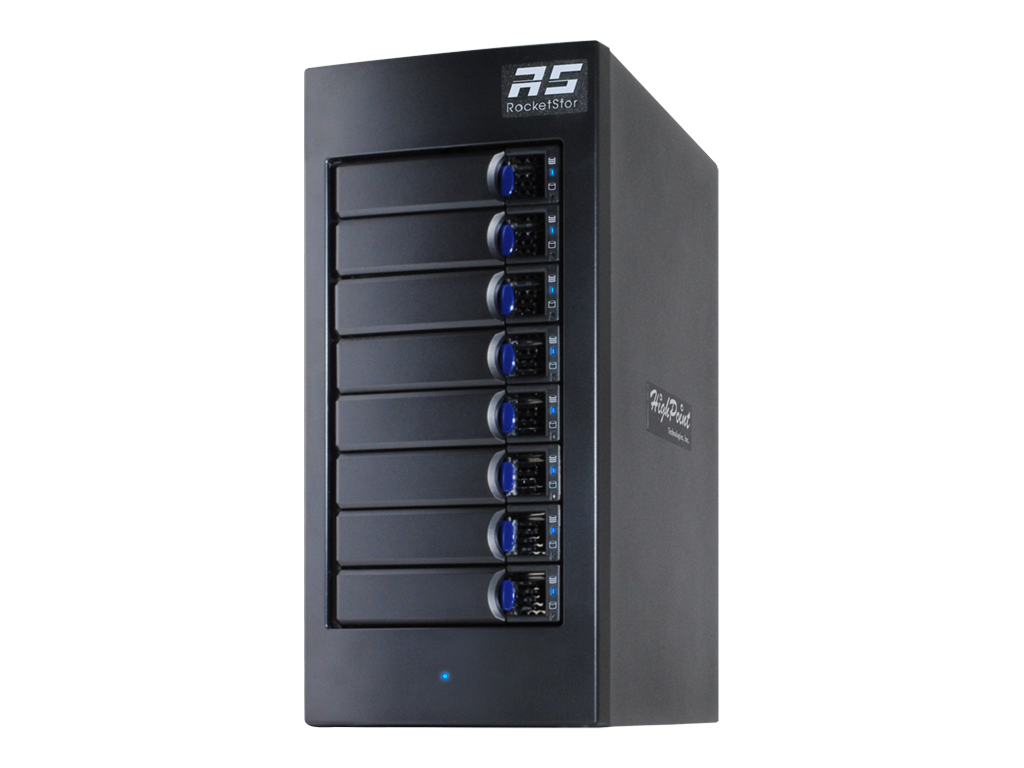 HighPiont Thunderbolt 3 RAID m/ 8x 6TB SATA HD