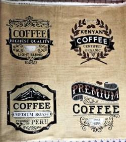 Kaffebilder, beige