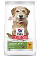 Hills Hund Adult 7+ Youthful Vitality S&M Chicken 1.5kg